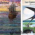 Deux versions illustrées de la petite <b>sirène</b>: Monika Laimgruber et Danièle Bour