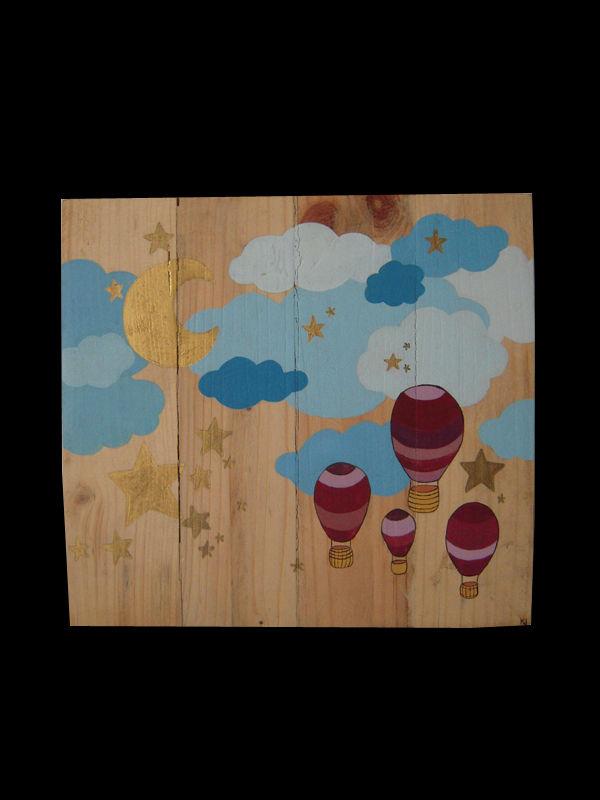 nuage mongolfières