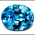 Le <b>Zircon</b> Bleu - Pierre de Naissance de Décembre