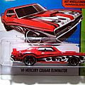 <b>Mercury</b> <b>cougar</b> eliminator de 1969