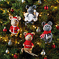 Festive <b>Friends</b> - Mice decorations - Amanda Berry