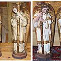 Magnifiques anges de chapelle