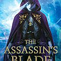 [cover reveal] the assassin's blade