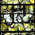 Baie 5 Verrière de la Vierge Les Litanies (2)
