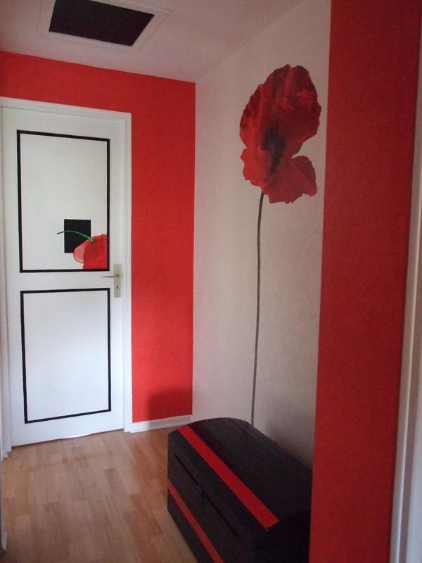 couloir - Photo de Peinture décorative - Le blog orangé de Sylvie