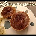 Coulants aux marrons