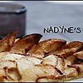 Tarte fine aux pommes au caramel beurre sale speculoos
