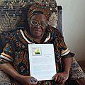 Dame veuve d'ernest ouandie n'est plus: les hommages des associations patriotiques de la diaspora camerounaise de belgique