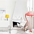 Intérieurs ❤ colorer le blanc et que ça chauffe!