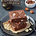 Brownie {chocolat, betterave & noisettes} à la farine de kamut #vegan