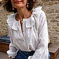 Chloé, la blouse bohème