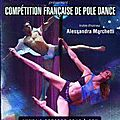 Competition francaise de pole dance - lundi 8 octobre au theatre dejazet