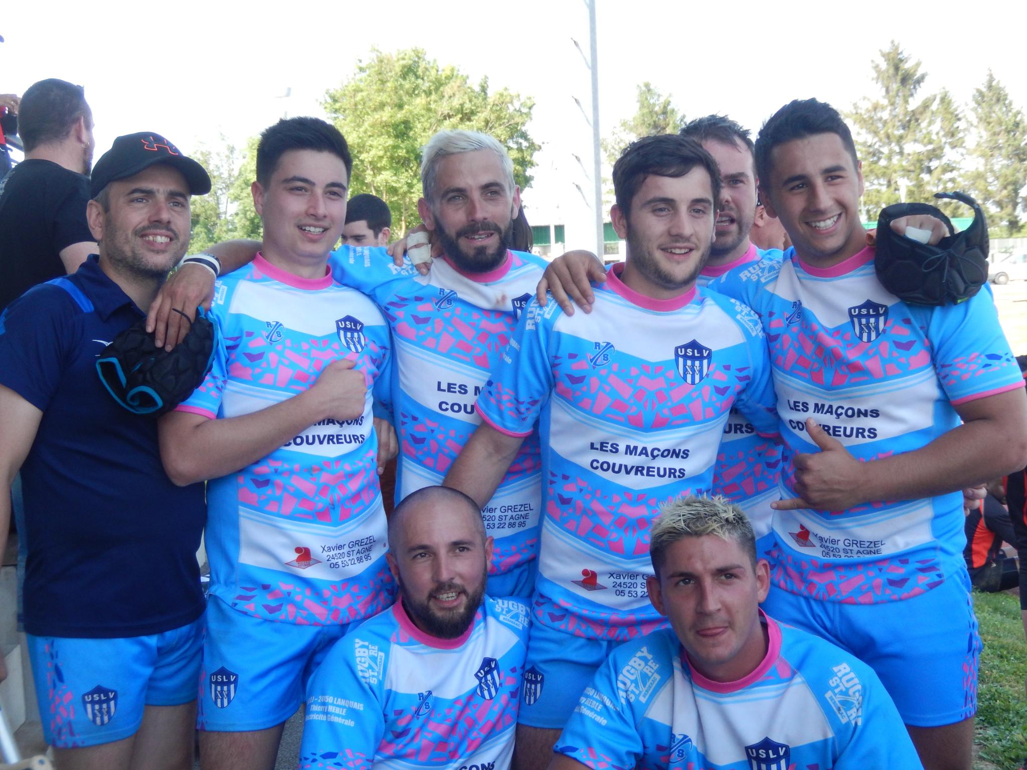 Les rugbymen lanquaisiens toujours en pleine forme !