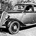 Renault celtaquatre, 1934 - 1938.