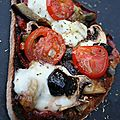Tartinade ricotta, <b>ciboule</b>, thym et tomates séchées - 009