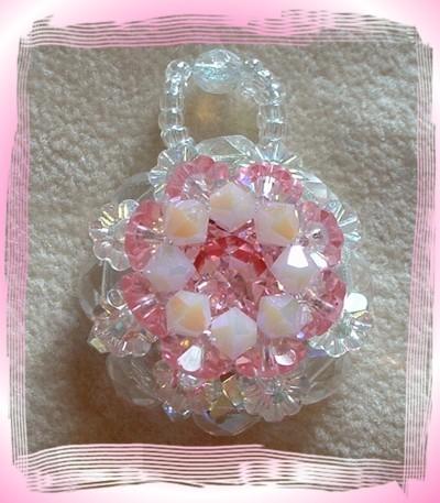 fantasy flower lt rose cristalAB