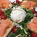 <b>Salade</b> <b>fraîcheur</b> au saumon