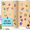 Jeu de lettres chez Lady Marianne