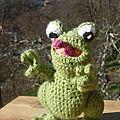 Petite grenouille malicieuse! :p
