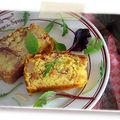 cake au foie gras aux pommes et aux figues