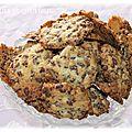 Cookies croustillants chocolat