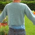 Pull bleu pour maman - mai 2007