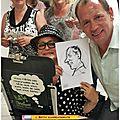 Caricaturiste à mulhouse - alsace -fête nationale du 14 juillet 2014