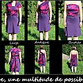 Robe multiposition