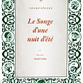 Le songe d'une nuit d'été (Shakespeare), ATQL, saison 2009/2010
