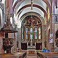 Église Saint-Pantaléon à Gueberschwihr - Intérieur