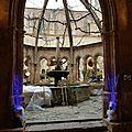 Marché de noël à l'abbaye de valmagne