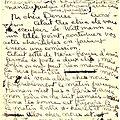 Lettre d'Amrita à Denise, Budapest, vers le 15 janvier 1934