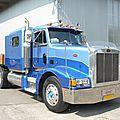 Peterbilt 377 semi-trailer truck 1987