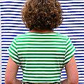 Alena, la robe tee-shirt de Fibremood