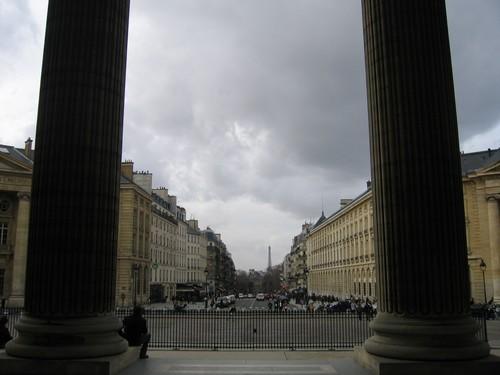 Paris : Vue du Panthéon