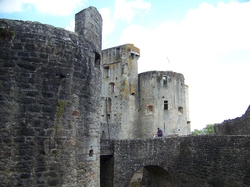 Le château de Clisson (44)