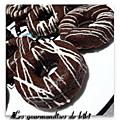 Hoops aux chocolat framboise