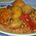 Idee recette couscous marocain poulet