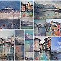 <b>Stage</b> <b>d</b>'<b>aquarelle</b> en Haute-Savoie, à l'atelier <b>d</b>'Alby-sur-Chéran entre Aix et Annecy -2021