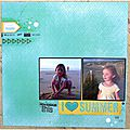 Une page { i love summer }