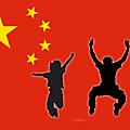 Les drapeaux chinois du Club Voyage autour du monde