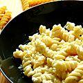 Pâtes aux quatre fromages
