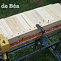 DIY jardinière en bois de palette et tasseaux