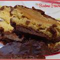 Biscuits moelleux fourrés amande et orange, enrobés de chocolat