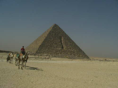 Giza, les pyramides