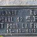 BARONNET Eugène (Saint Gaultier) + 15/10/1915 Etaves (02)