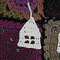 Décorations de noël : une guirlande maisons