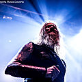 Amon Amarth (+ <b>Dark</b> <b>Tranquility</b> + Omnium Gatherum), Bordeaux, Le Rocher De Palmer, 2017.04.07