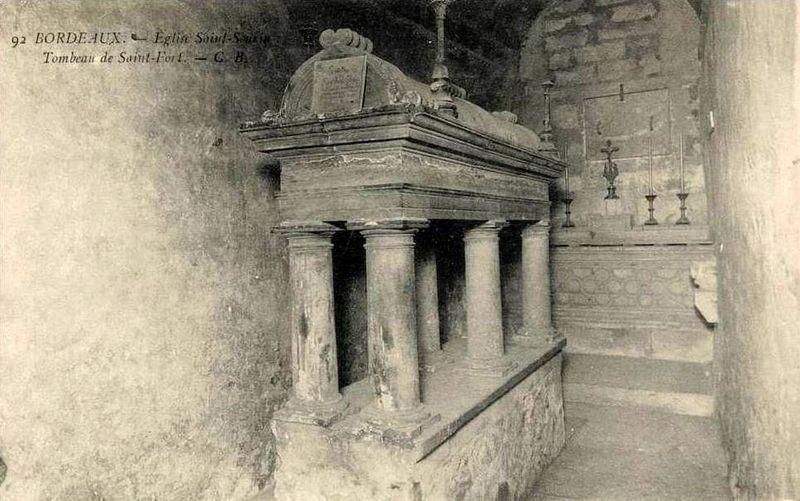 Basilique St Seurin, tombeau de St Fort