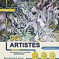 Route des artistes